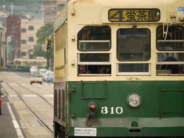 路面電車の写真