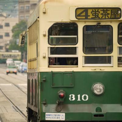 「路面電車」の写真素材
