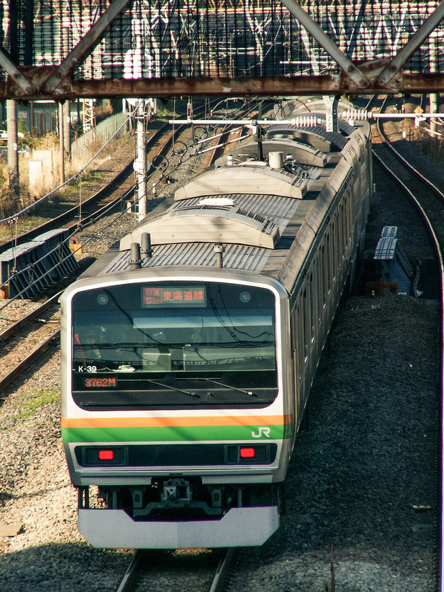 東海道線E231系の写真