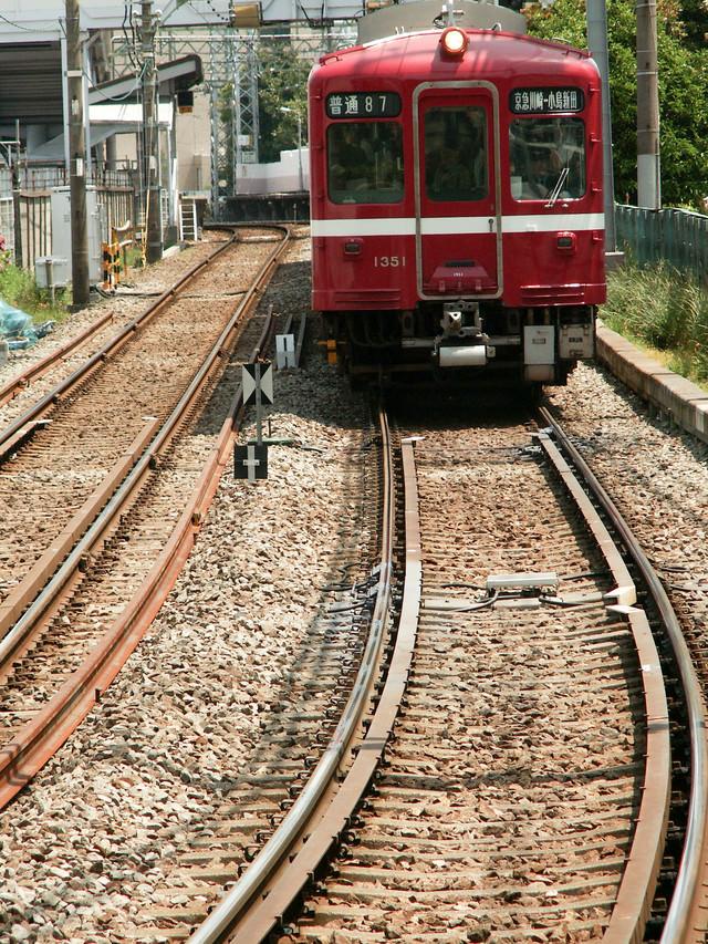 京浜急行川崎大師線の写真