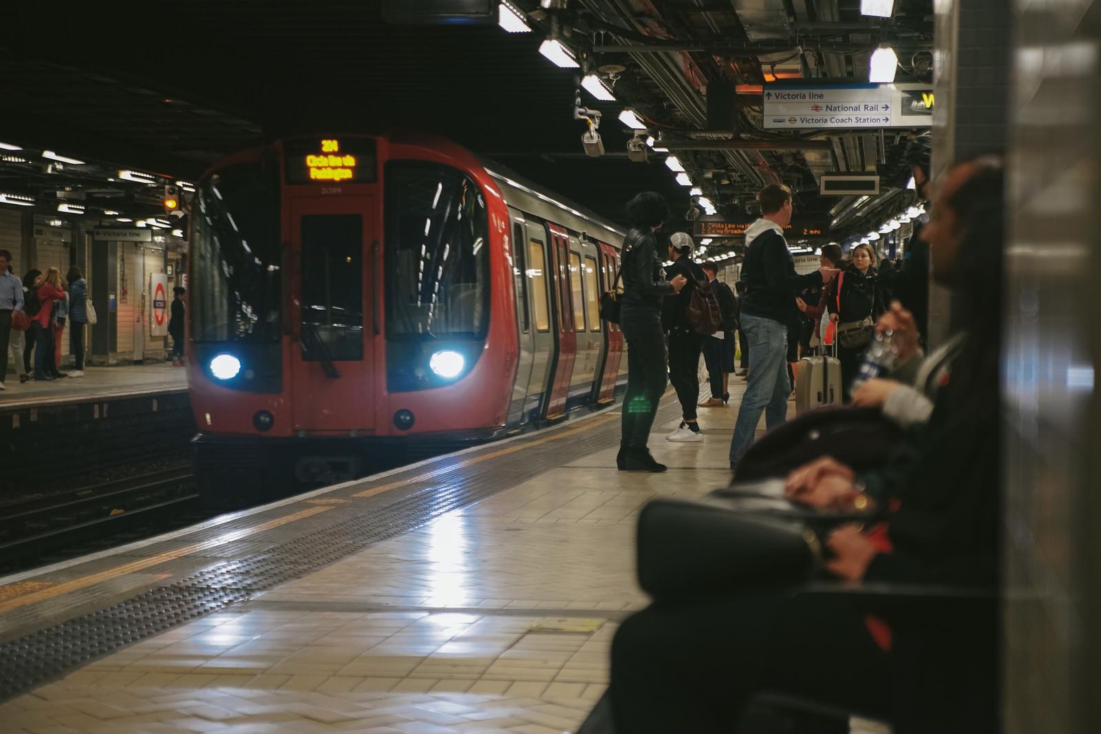 「ロンドンの地下鉄」の写真