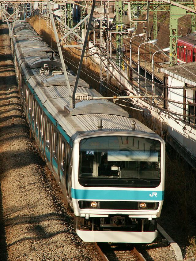 京浜東北線E231系の写真