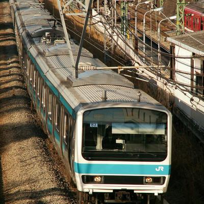 「京浜東北線E231系」の写真素材