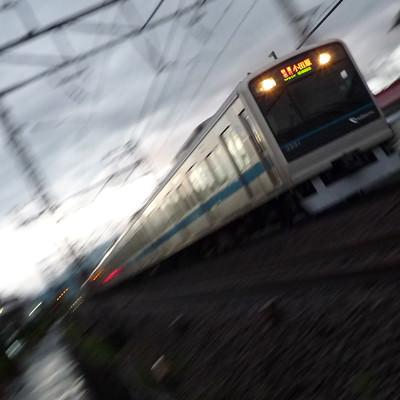 「小田急快速!」の写真素材