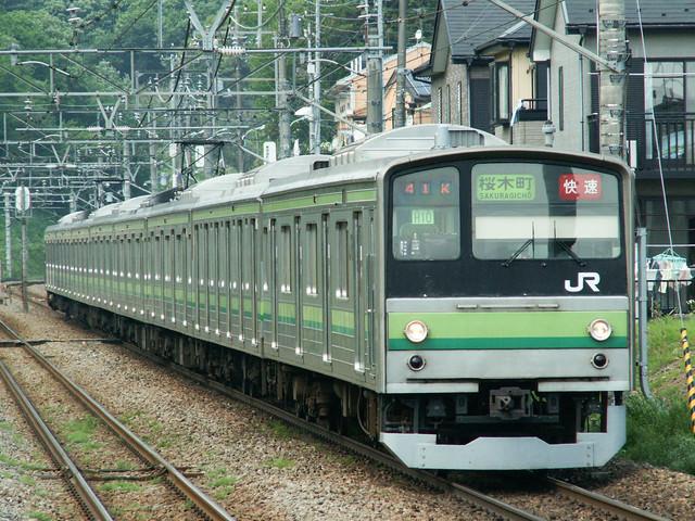 JR横浜線(205系)