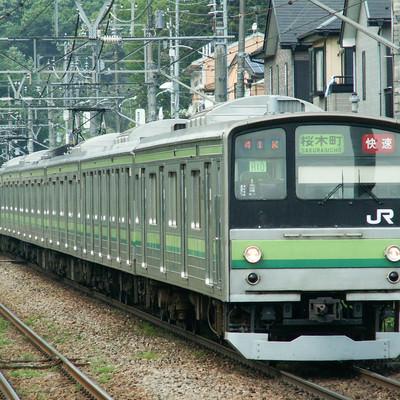 JR横浜線(205系)の写真