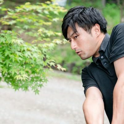 ゴルファーの引き締まった腕の写真