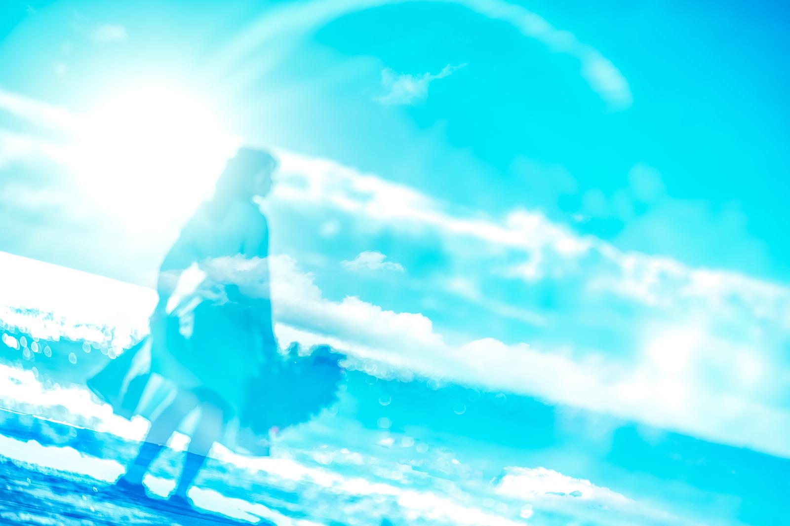 「懐かしい思い出(回想)」の写真[モデル:Mizuho]
