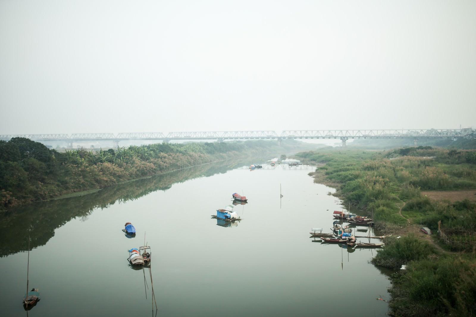「ソンホン川(紅河)」の写真