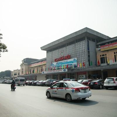 「ハノイの鉄道駅(ベトナム)」の写真素材