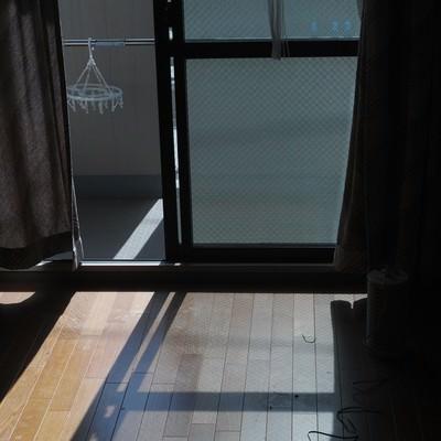 「ワンルームに引っ越し」の写真素材
