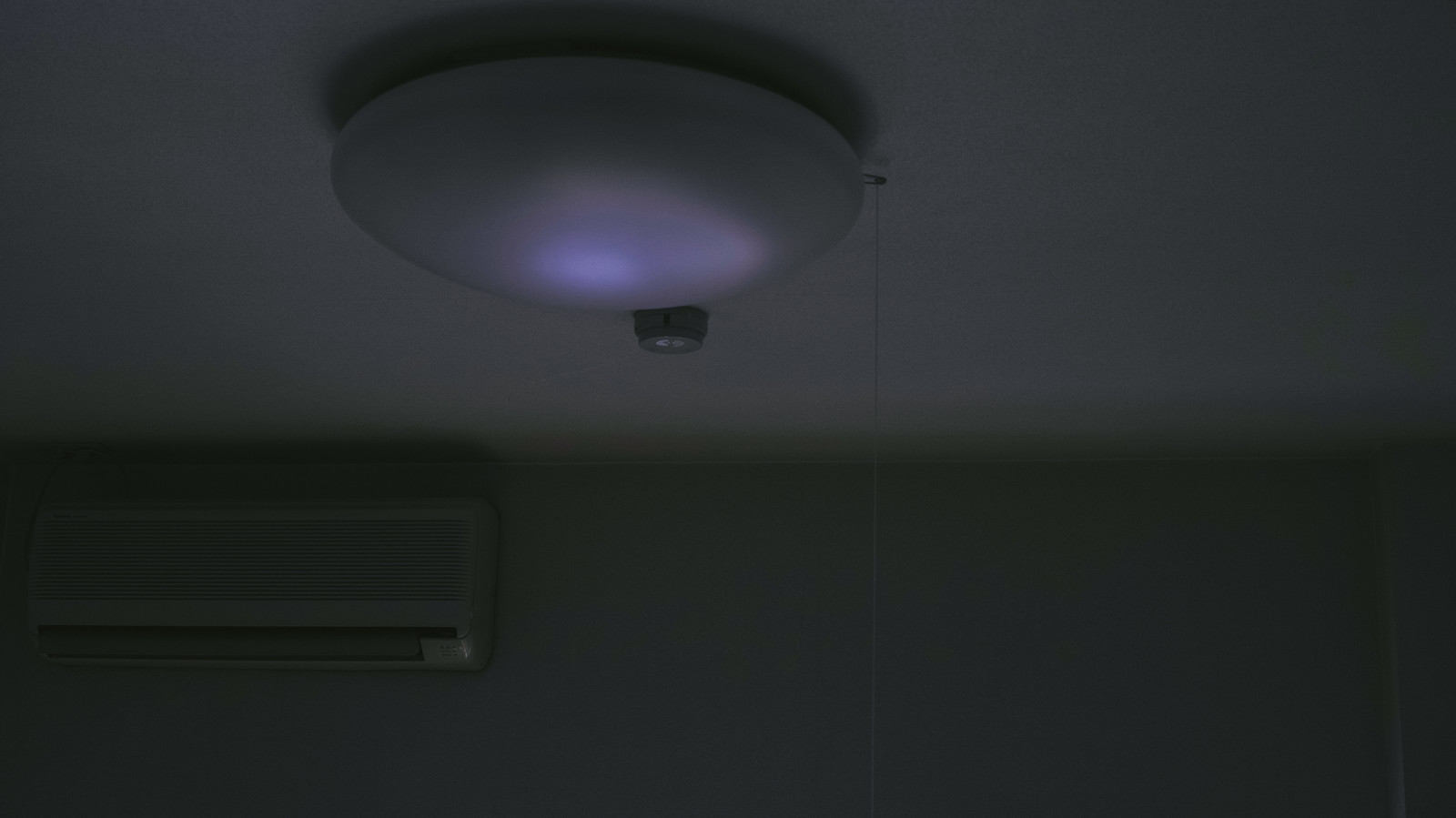 「電気が止められた・・・電気が止められた・・・」のフリー写真素材を拡大