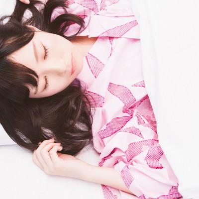 「天使の寝顔」の写真素材