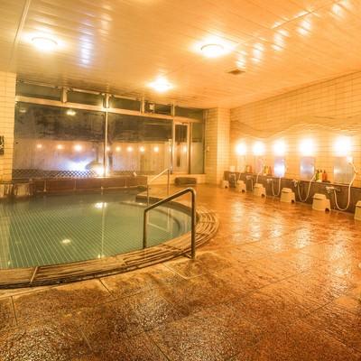 「旅館の大浴場」の写真素材