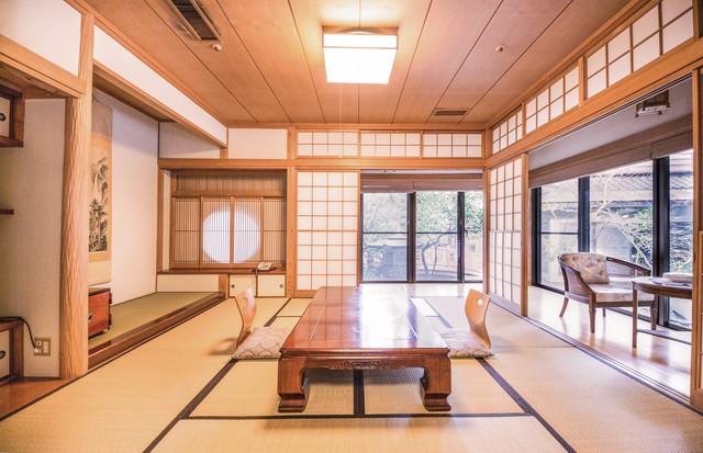 温泉宿の和室の写真