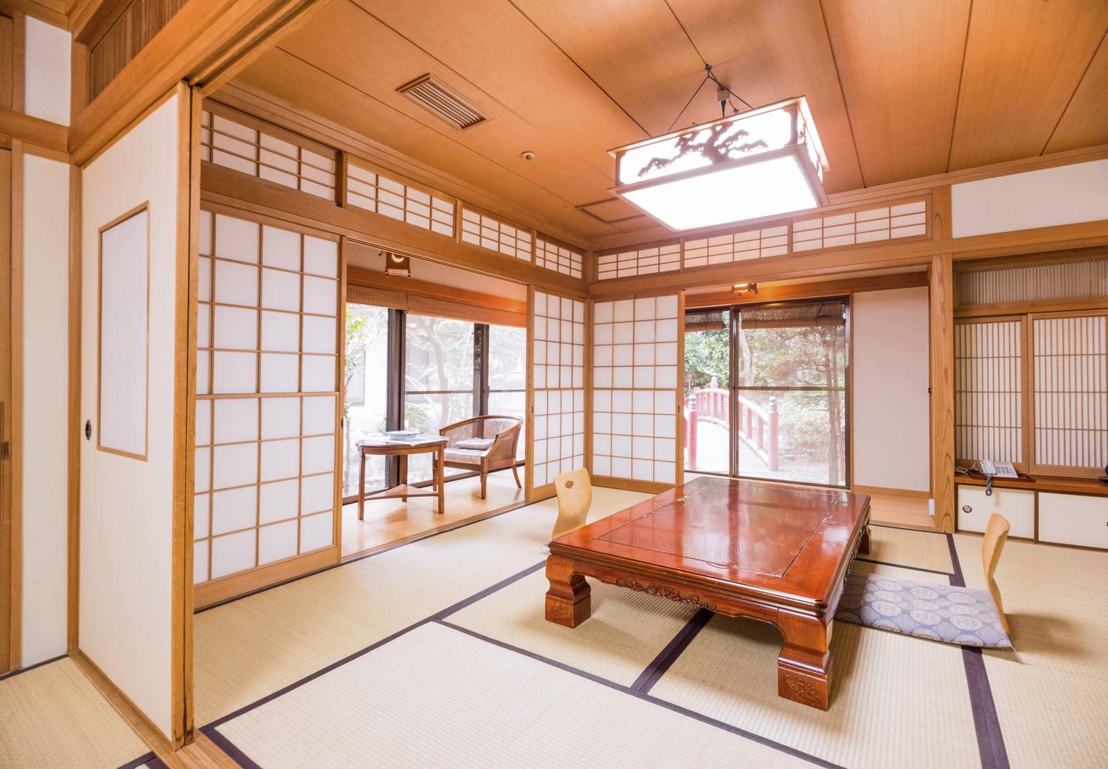 「家族で宿泊したくなる旅館の和室(客室)」の写真