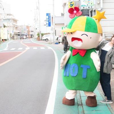 「おいでよ!大原中央商店街(千葉県いすみ市)」の写真素材