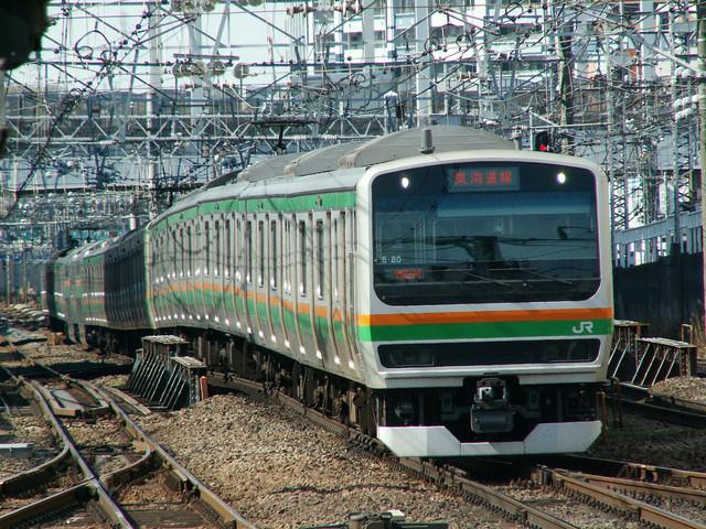 東海道線(E231系)の写真