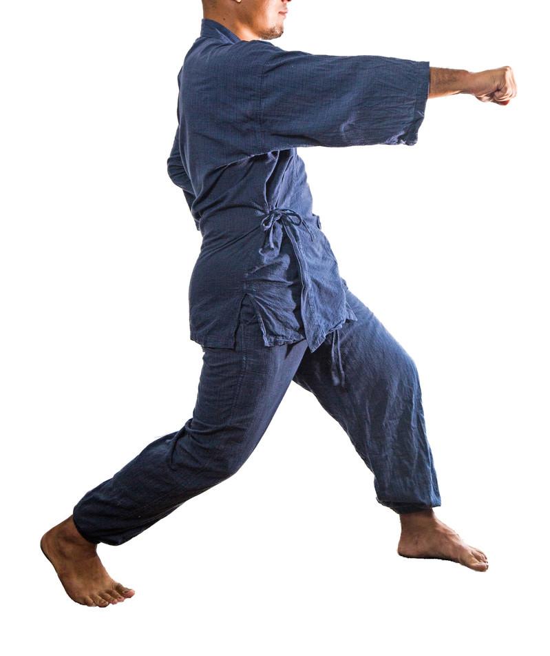「正拳突きやるマン」の写真