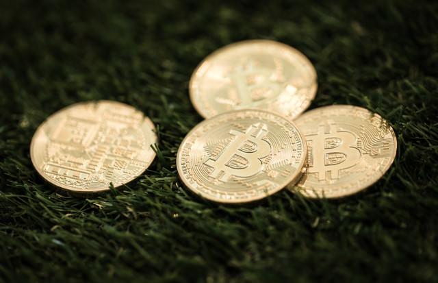 ビットコインメダルの写真