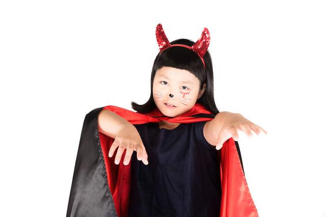 可愛い小悪魔コスプレの写真