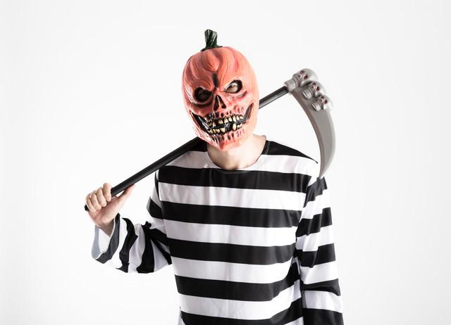 「昨日合コン行っただろ?」と彼女にカマをかけるかぼちゃのお化けの写真