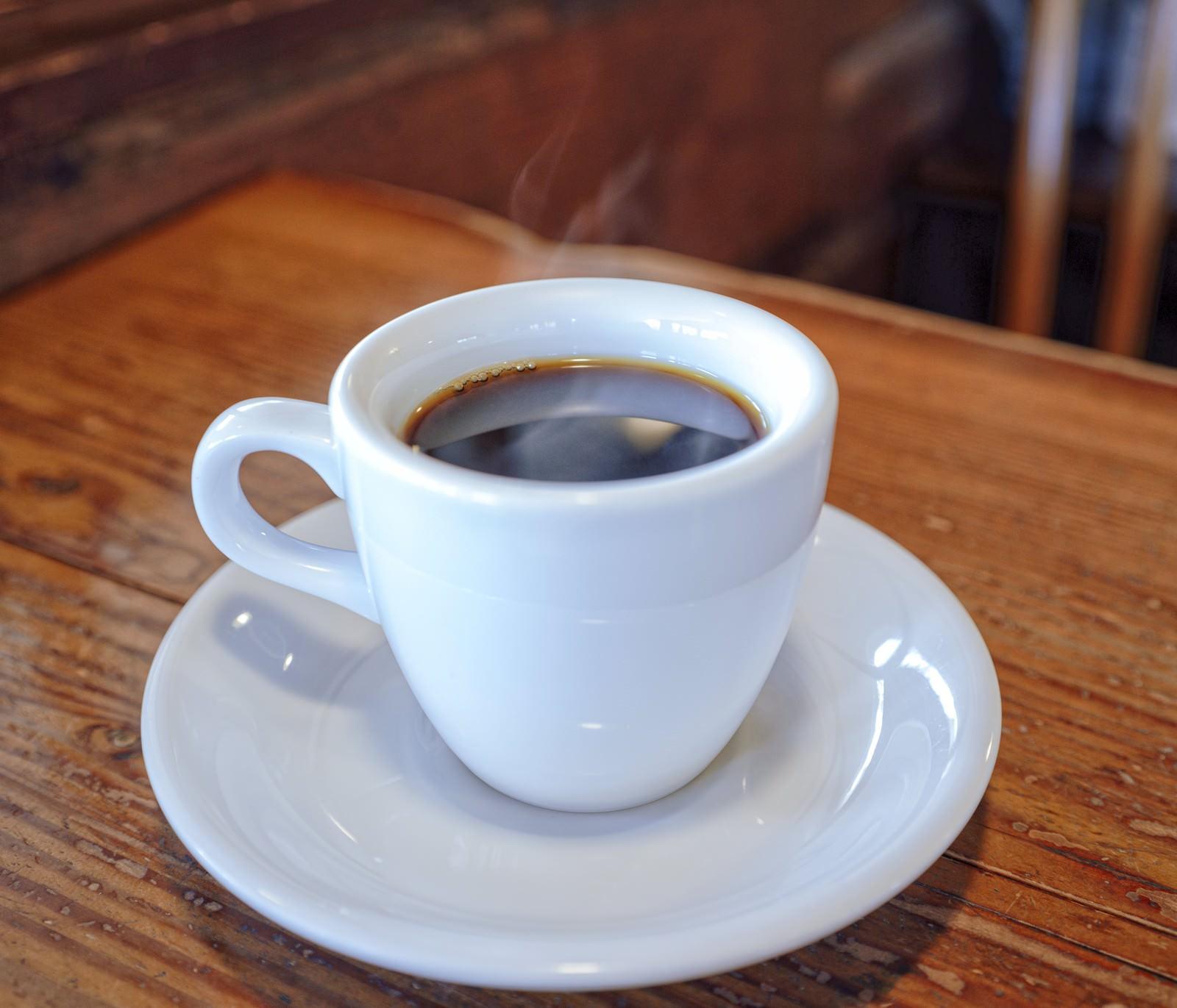 「淹れたてコーヒー」の写真