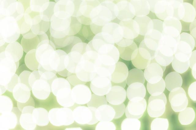 イルミネーションの灯りの写真