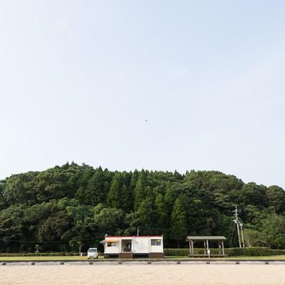 「イマリンビーチ(伊万里人工海浜公園)」の写真素材