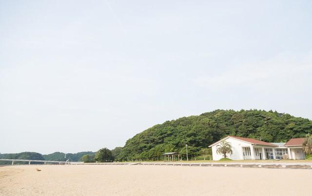 伊万里人工海浜公園(砂浜)の写真
