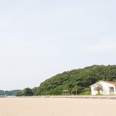 「伊万里人工海浜公園(砂浜)」の写真素材