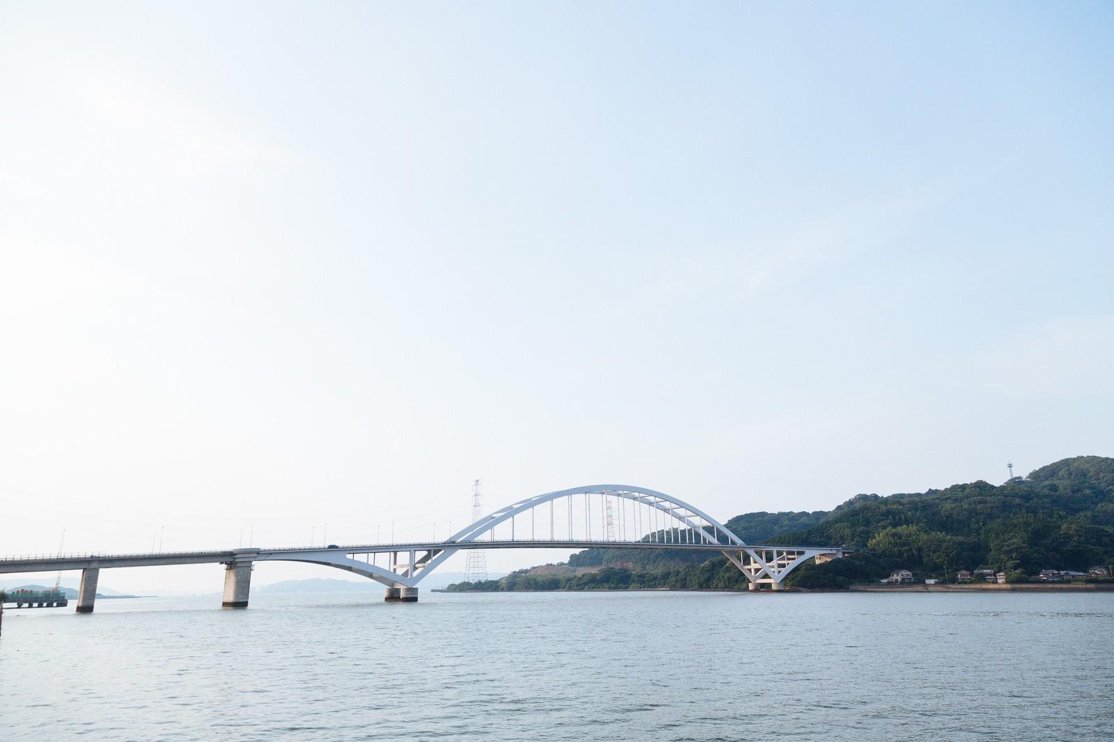 「伊万里大橋(アーチ橋)伊万里大橋(アーチ橋)」のフリー写真素材を拡大