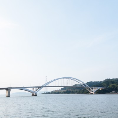 伊万里大橋(アーチ橋)の写真