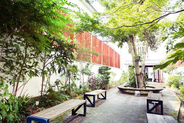 生い茂る古伊万里公園の写真