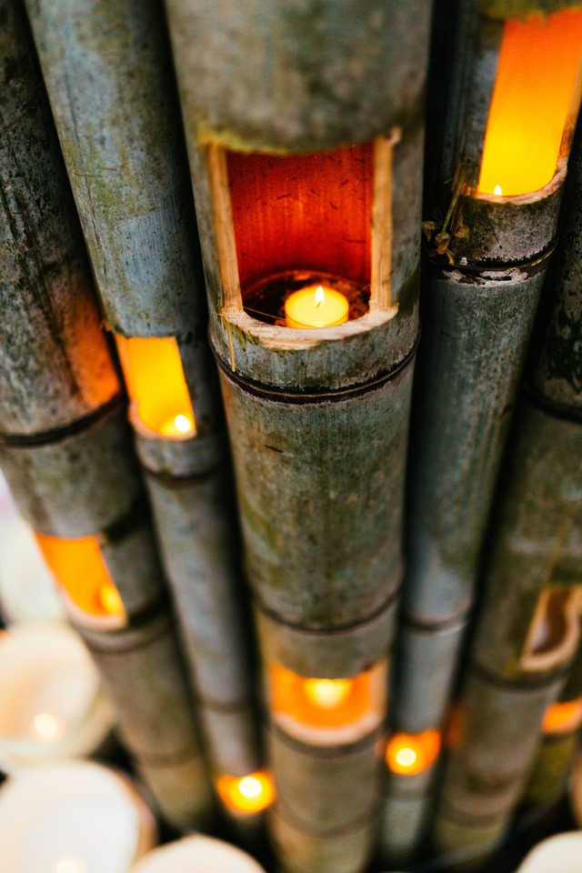 竹の灯り(ボシ灯ろうまつり)の写真