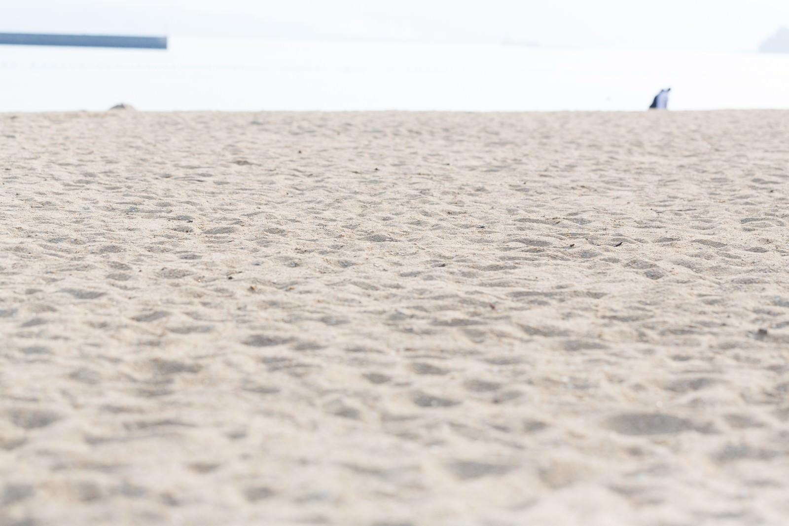 「伊万里市のイマリンビーチ砂浜」の写真