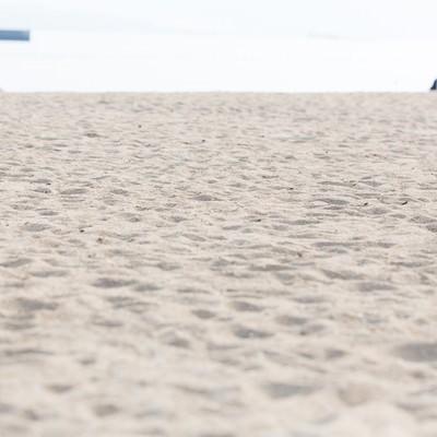 「伊万里市のイマリンビーチ砂浜」の写真素材