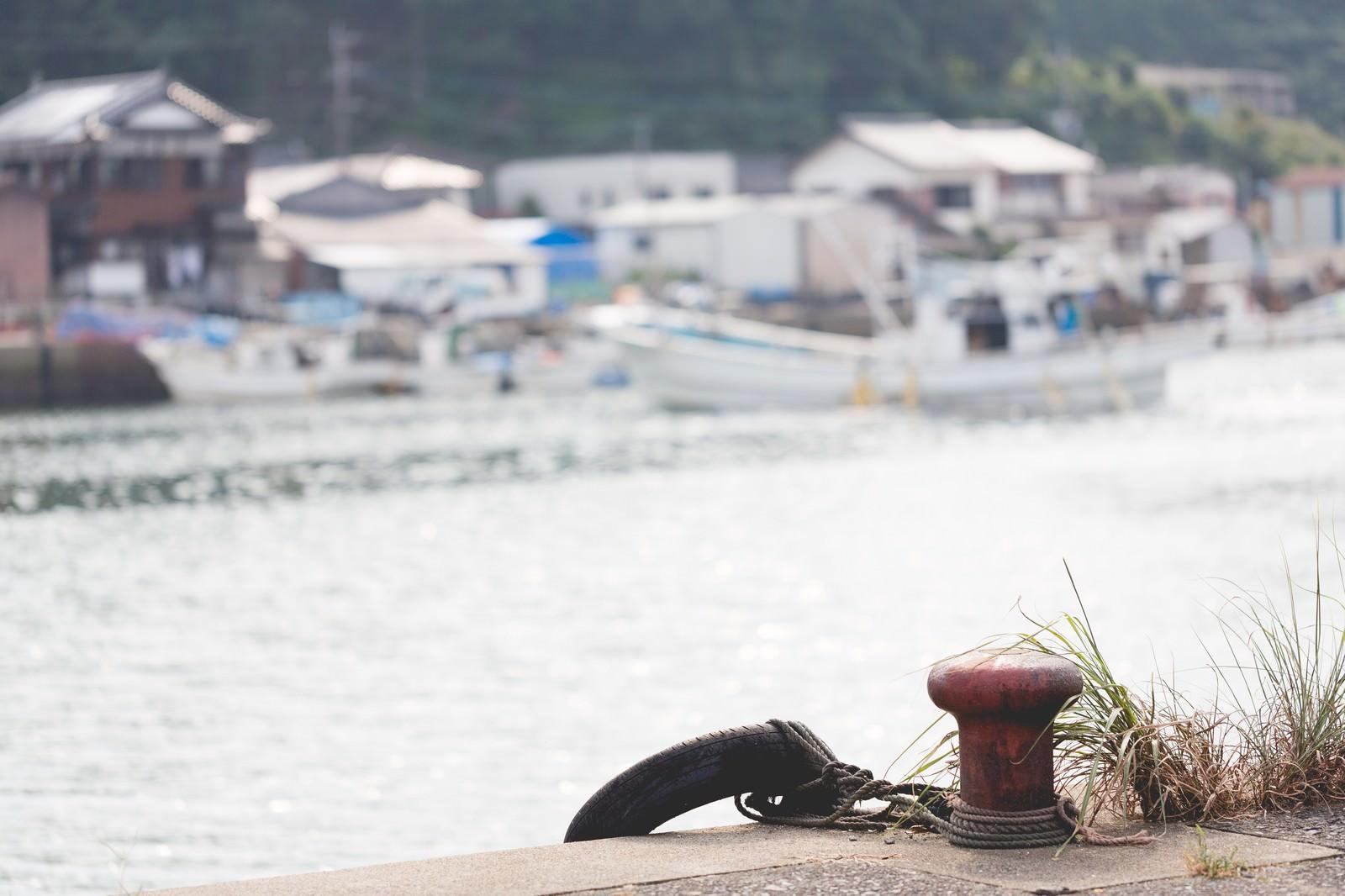 「佐賀県伊万里市波多津港」の写真