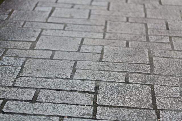 大川内山の石畳の写真