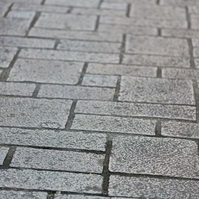 「大川内山の石畳」の写真素材