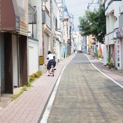 「伊万里市まちなか一番館の通り」の写真素材