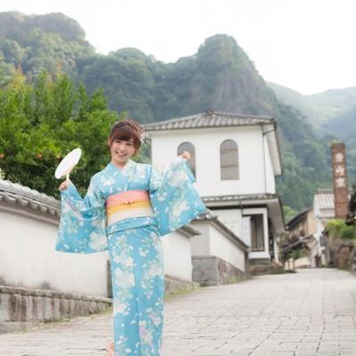 「伊万里市大川内山に来ました!」の写真素材