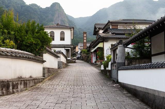 まるで秘境!伊万里大川内山の街並みの写真