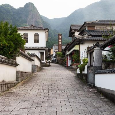 「まるで秘境!伊万里大川内山の街並み」の写真素材