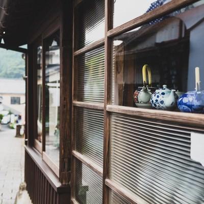 「秘窯の里「大川内山」のお店」の写真素材