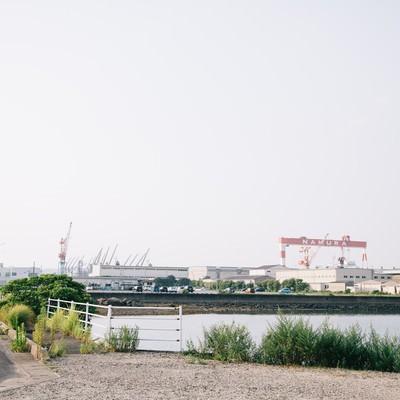 「伊万里市を支える造船所」の写真素材