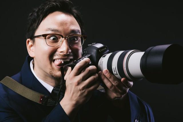 300mm の望遠レンズを装着すると人格が変わってしまうゲス顔ドイツ人ハーフの写真