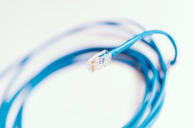ネットワークケーブル(LANケーブル)の写真