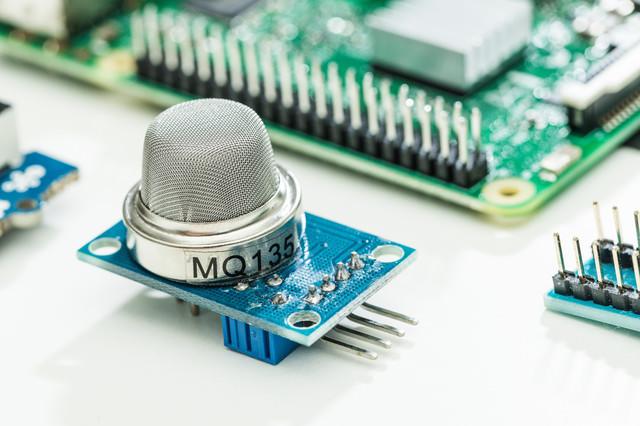 空気質センサーの写真
