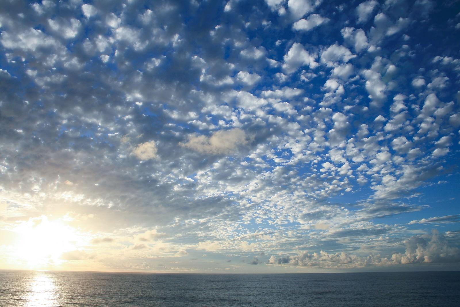 「羊雲」の写真